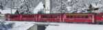 K10-1414 Kato RhB EW1 Red 4 Coach Add on Set